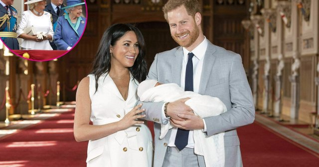 Royal Family Sends Prince Harry and Meghan Markle's Son Archie Love on His 2nd Birthday.jpg
