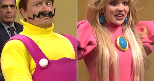 Elon Musk and Grimes Play Wario And Princess Peach on 'Saturday Night Live' as She Makes Surprise Cameo.jpg