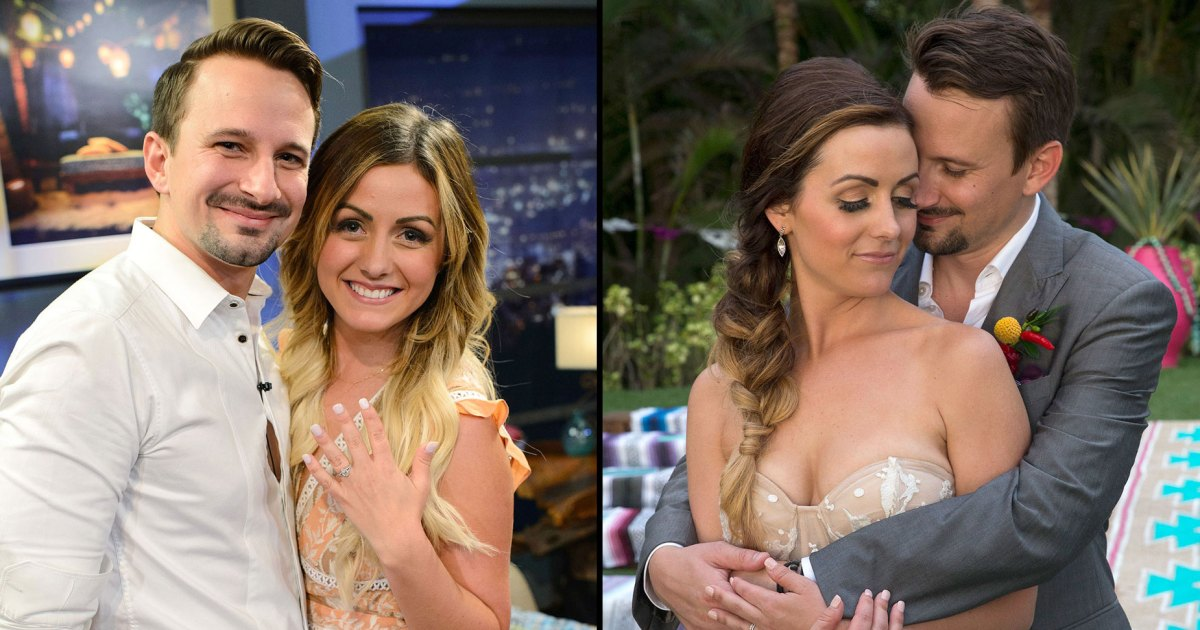 Bachelor in Paradise's Carly Waddell and Evan Bass: The Way They Were