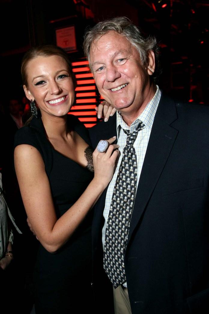 Blake Livelys Father Ernie Lively Dead 74