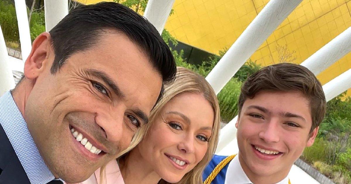 Kelly Ripa and Mark Consuelos celebrate the graduation of Son Joaquin: Photos