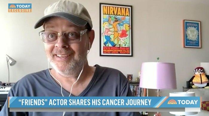 L'ancien ami James Michael Tyler lutte aujourd'hui contre le cancer de la prostate de stade 4
