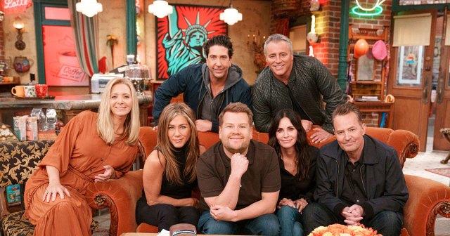 'Friends' Cast Joins James Corden for Hilarious 'Carpool Karaoke'.jpg