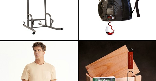 Home Gyms, Wine Backpacks and More Fun Presents Fit for Father's Day 2021: Gift Guide.jpg