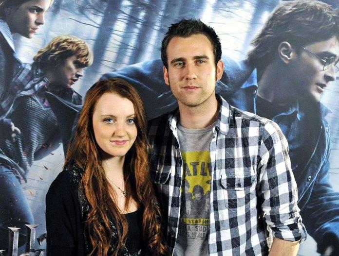 Harry Potter Matthew Lewis Evanna Lynch Exclusive Interview