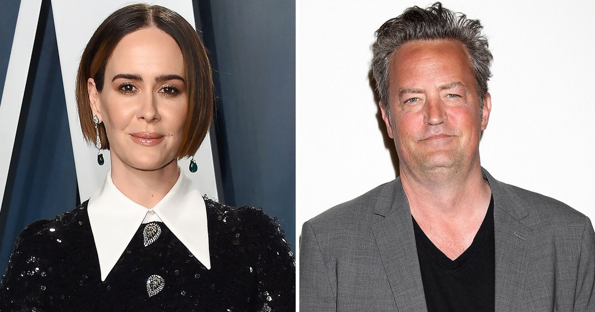 Photo of Harsh! Sarah Paulson Was Rejected by Matthew Perry at a 'Makeout' Party