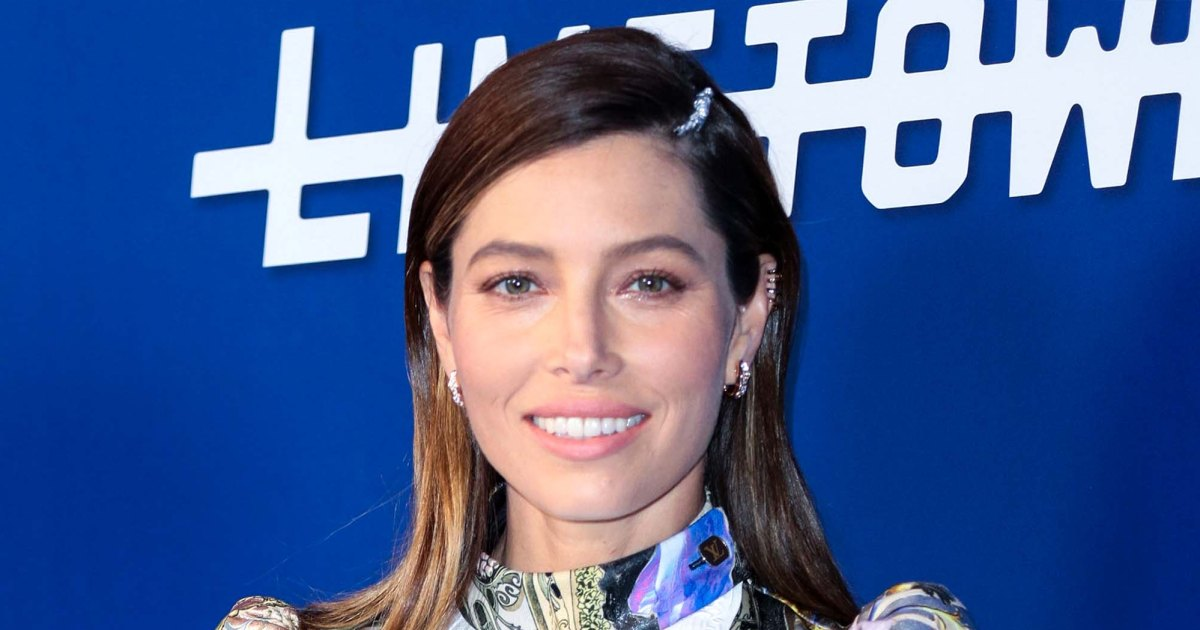 Jessica Biel says Son Phineas 'wasn't supposed to be' a 'secret'