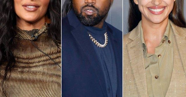 Kim Kardashian Has Met Estranged Husband Kayne West's New Flame Irina Shayk 'Several Times' Over the Years.jpg