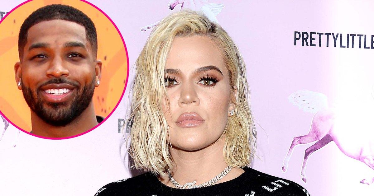 Khloe Kardashian reacts to suspicious post about Tristan after split