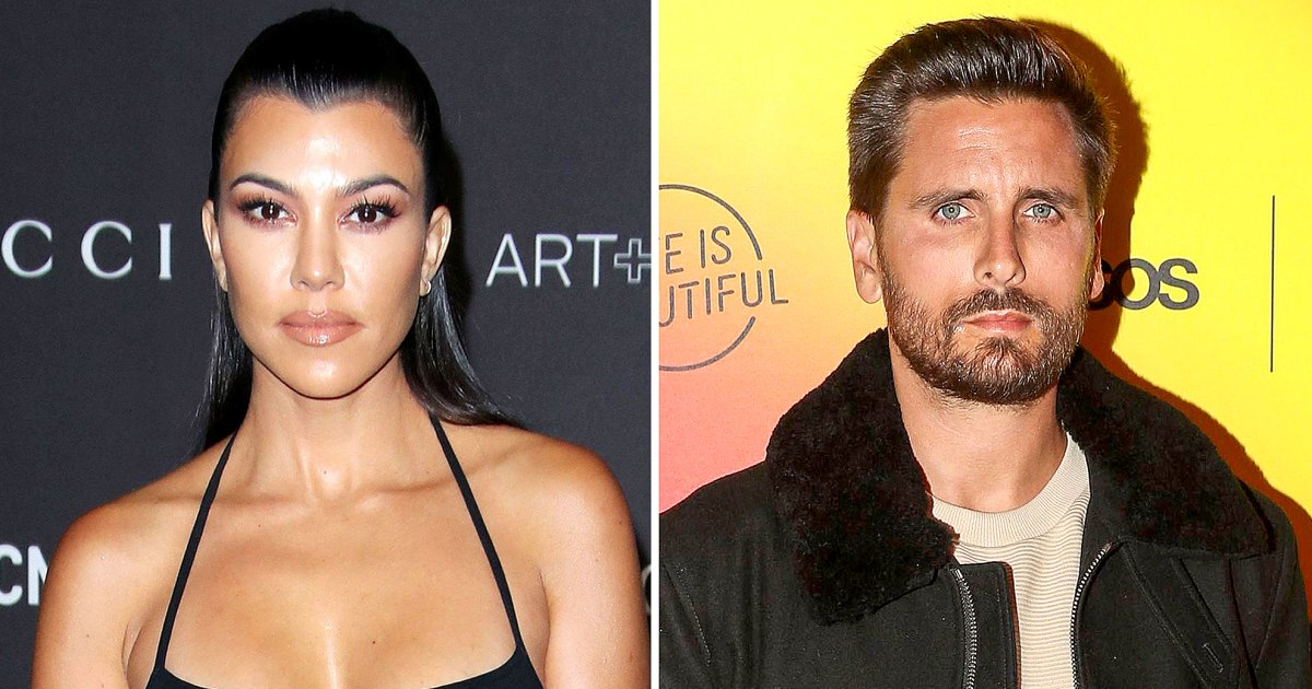 Kourtney Kardashian Says She and Scott Disick 'Have Not' Been Intimate Since Their Split
