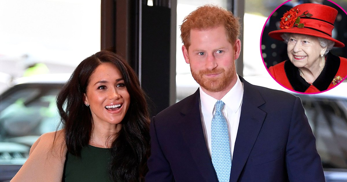 Prince Harry and Meghan Markle Asked Queen for Lilibet's Name 'Approval'