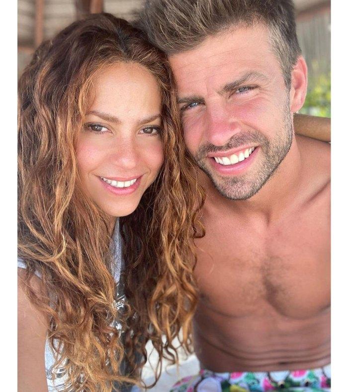 Shakira partage une photo rare d'elle et de Gerard Pique Son Sasha 3