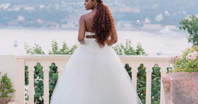 Issa Rae's Butt-Length Wedding Ponytail Is Seriously Goals: Photos.jpg
