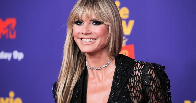 Heidi Klum:25ThingsYou Don't Know About Me ('My Favorite Exercise Is Jumping on the Trampoline').jpg