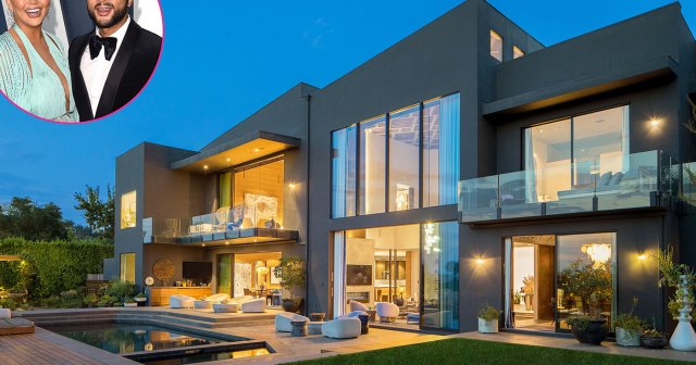 John Legend and Chrissy Teigen Sell $16.8 Million Mansion: Inside Home Previously Owned by Rihanna.jpg