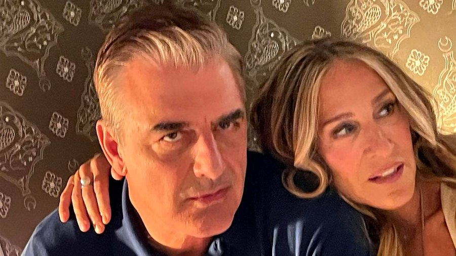 Carrie and Big Reunite in 'Sex and the City' Sequel Series Photos