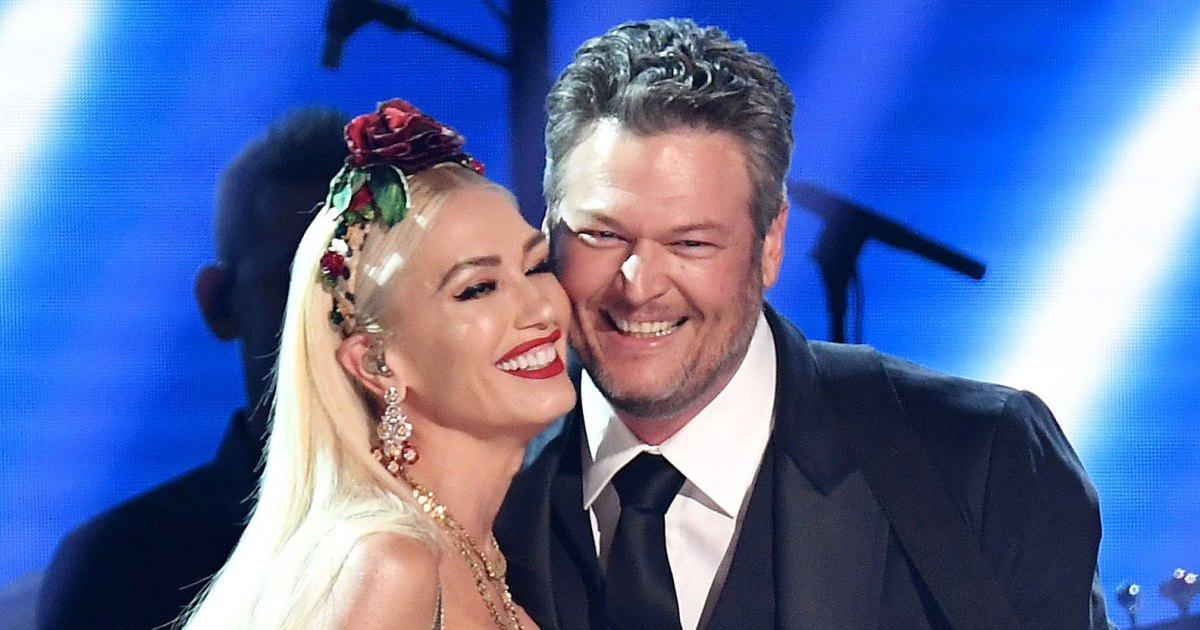 Gwen Stefani Wearing Vans With Blake Shelton's Face Is the Ultimate Display of Affection