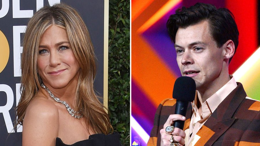 Jennifer Aniston Just Wore Same Gucci Suit Harry Styles
