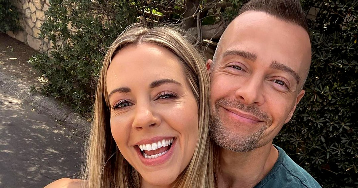 Joey Lawrence and Samantha Cope are engaged