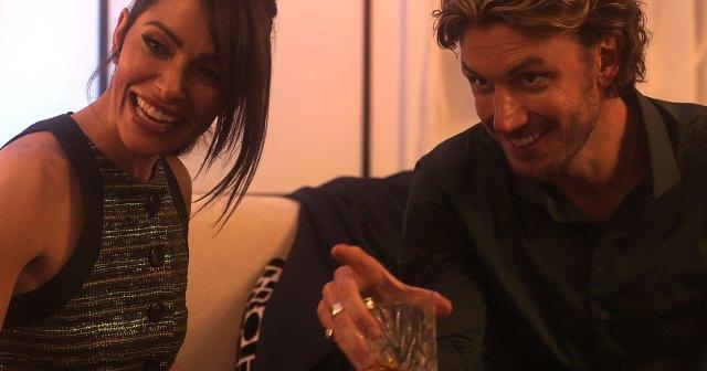 Watch Real-Life Couple Sarah Shahi and Adam Demos Cringe Over 'Sex/Life' Sex Scene.jpg