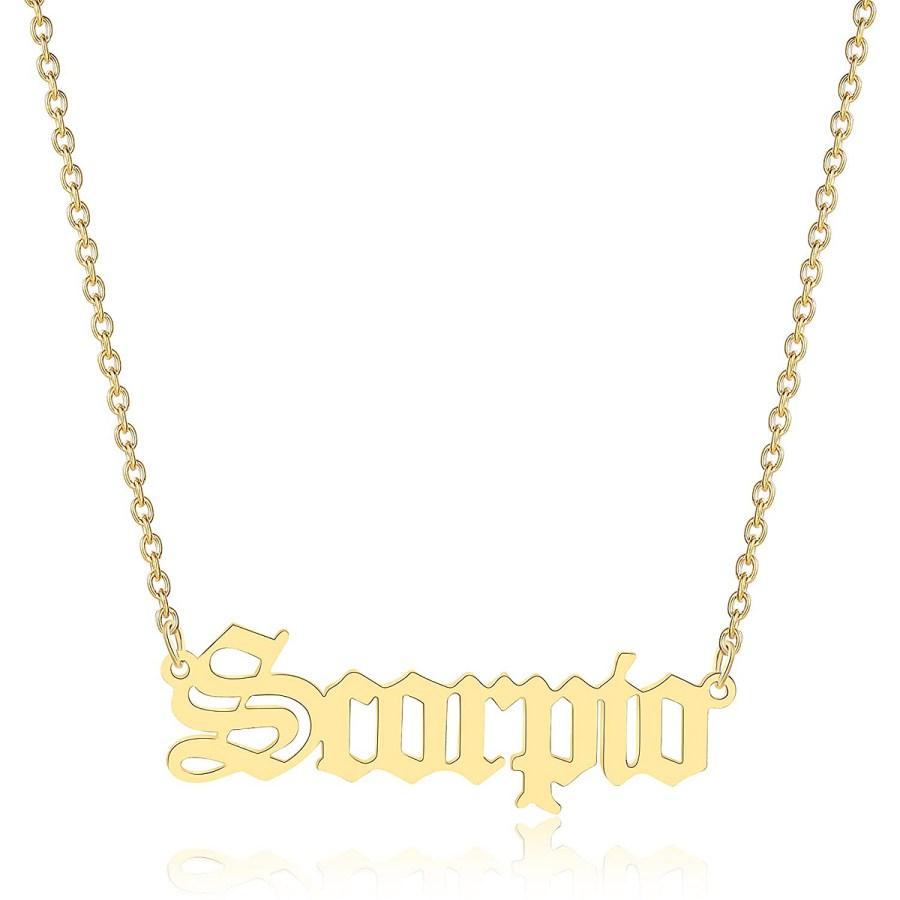 constellation-zodiac-necklace-scorpio-nameplate
