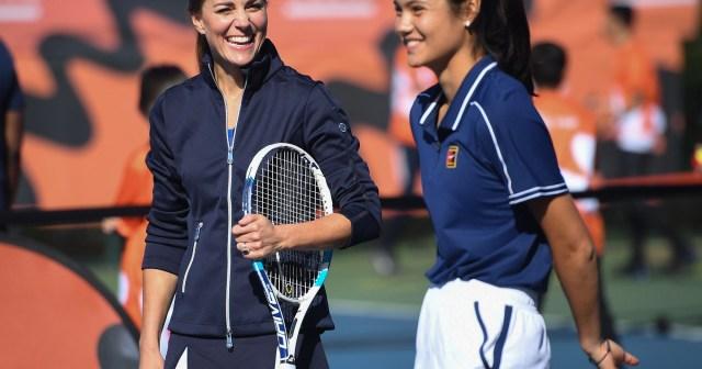 Duchess Kate Shows Off Her Tennis Skills With U.S. Open Winner Emma Raducanu — See The Photos.jpg