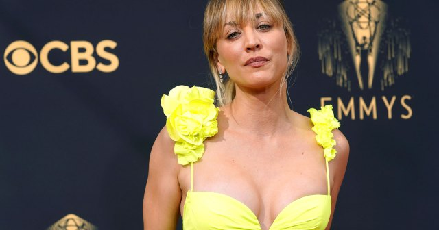Kaley Cuoco's Skin Is Absolutely Glowing on the 2021 Emmys Red Carpet: Get the Look.jpg