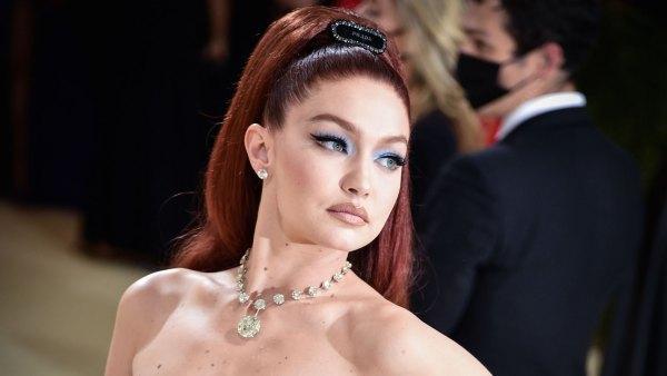 Gigi Hadid Debuts Glamorous Fiery Hair at 2021 Met Gala