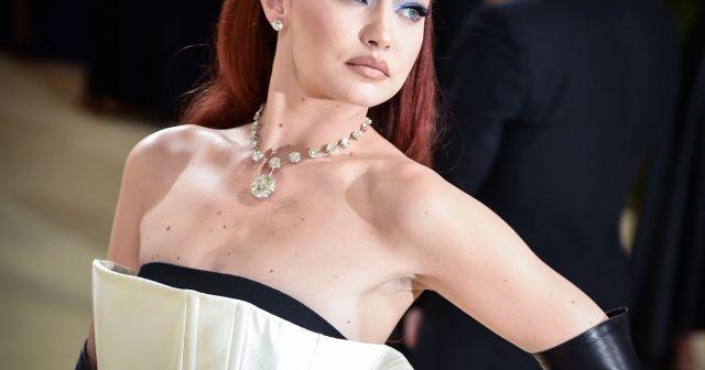 Gigi Hadid Debuts Glamorous Fiery Hair at 2021 Met Gala, Details 'Mama Duty' on the Farm.jpg