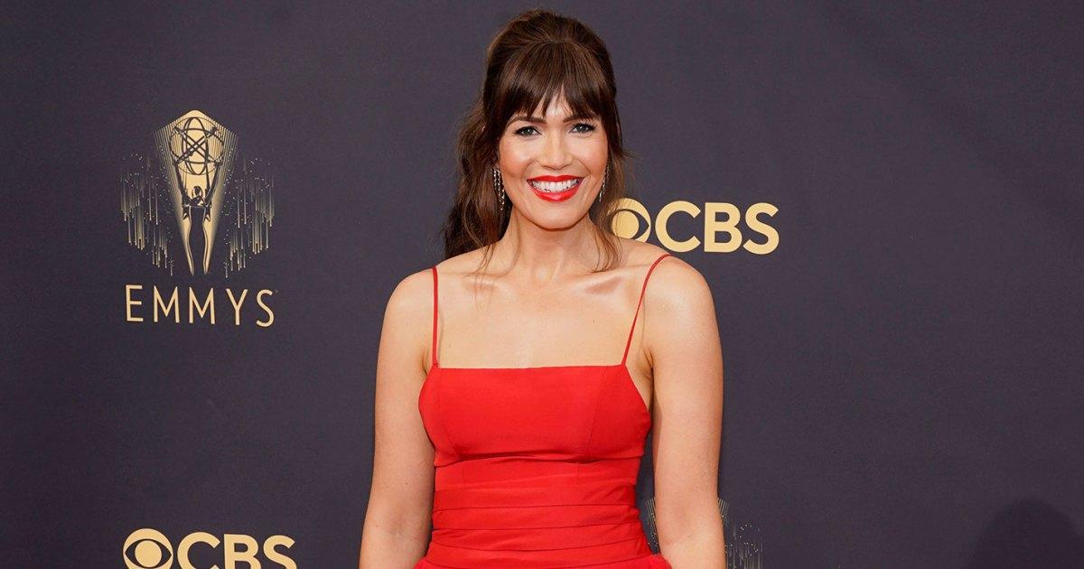Mandy Moore Brings Breast Pump to Emmys 2021: 'MVP Accessory'
