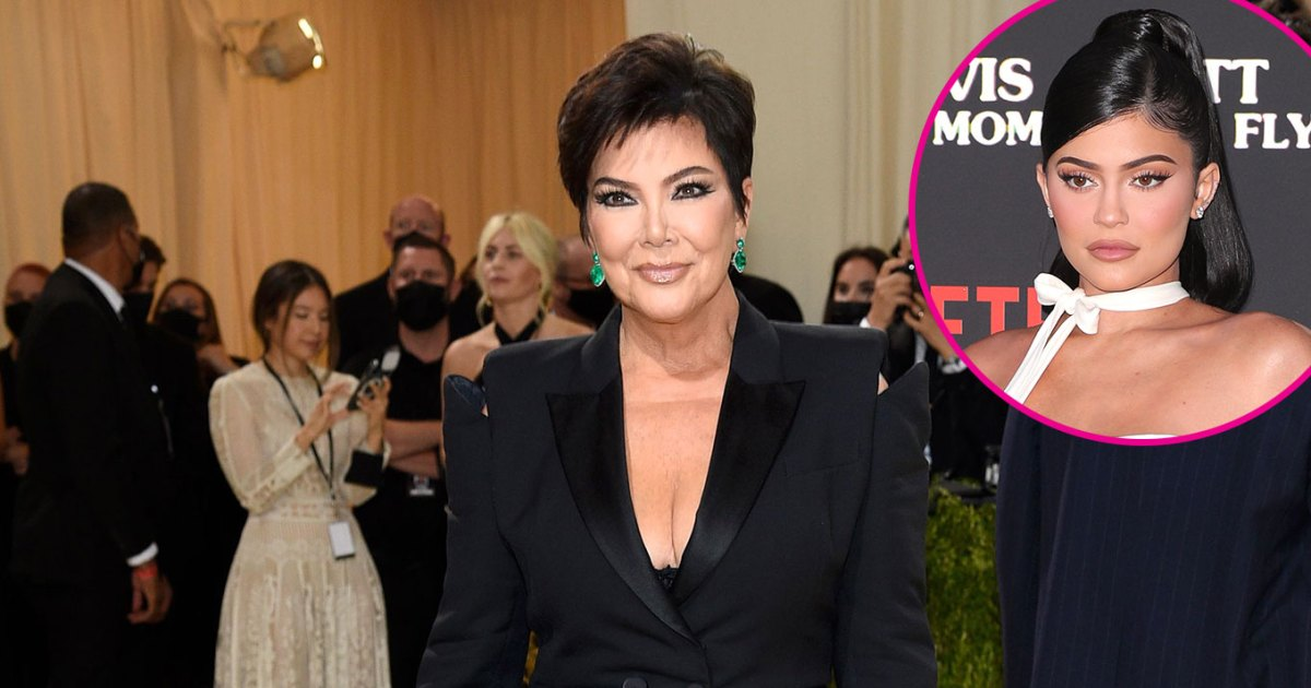 Kris Jenner Gushes Over Kylie Jenner's 'Great' Pregnancy at Met Gala 2021: Photos