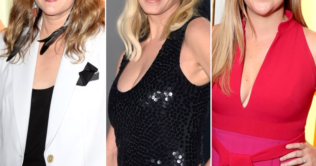 Drew Barrymore 'Fangirls' Over Chelsea Handler, Amy Schumer and More Famous Faces in All-Star Photo.jpg