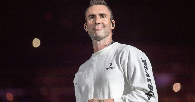 Adam Levine Was Surprised by Maroon 5 Fan Rushing the Stage to Hug Him — See His Reaction.jpg