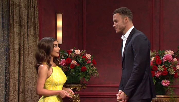 Kim Kardashian Spoofs 'Bachelorette' With Tyler Cameron and Kendall Jenner's Ex Blake Griffin on 'SNL'