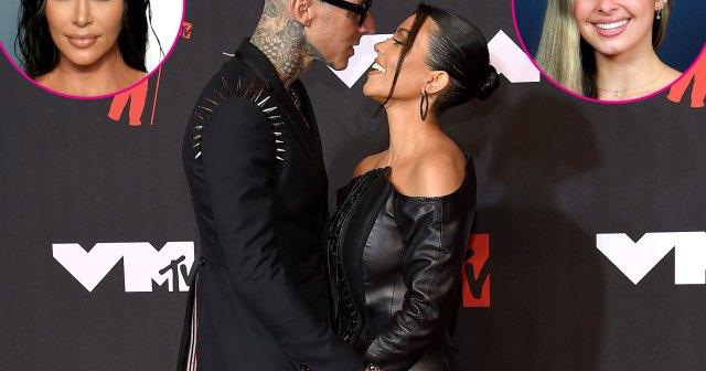 Kim! Addison! Kardashians and More Celebs React to Kourtney Kardashian and Travis Barker's Engagement.jpg