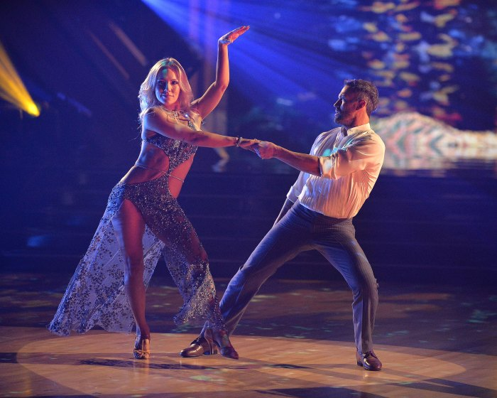 Sharna Bridges and Brian Austin Green explain why they didn't post-dance with the stars DWTS Elimination Interview 2