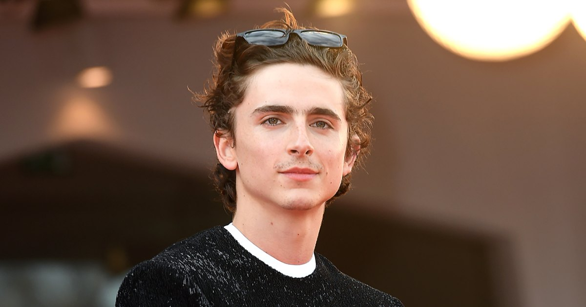 Timothee Chalamet Shares First Look at 'Wonka' Character
