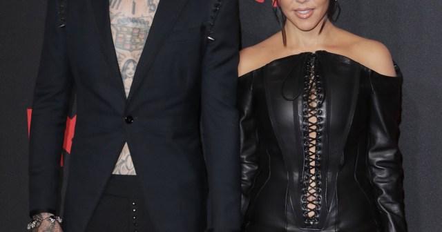 Kourtney Kardashian Supports Travis Barker at 'Saturday Night Live' 1 Week After Kim Poked Fun at Their PDA.jpg