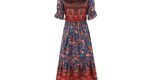 This Frock Is Proof You Can Still Wear Boho-Chic Dresses Into Fall.jpg