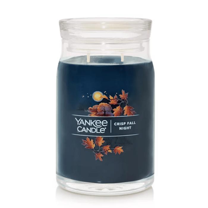 Crisp Fall Night Candle