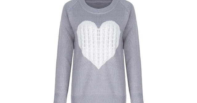 This Adorable Crewneck Heart Sweater Has All of the Good Vibes.jpg