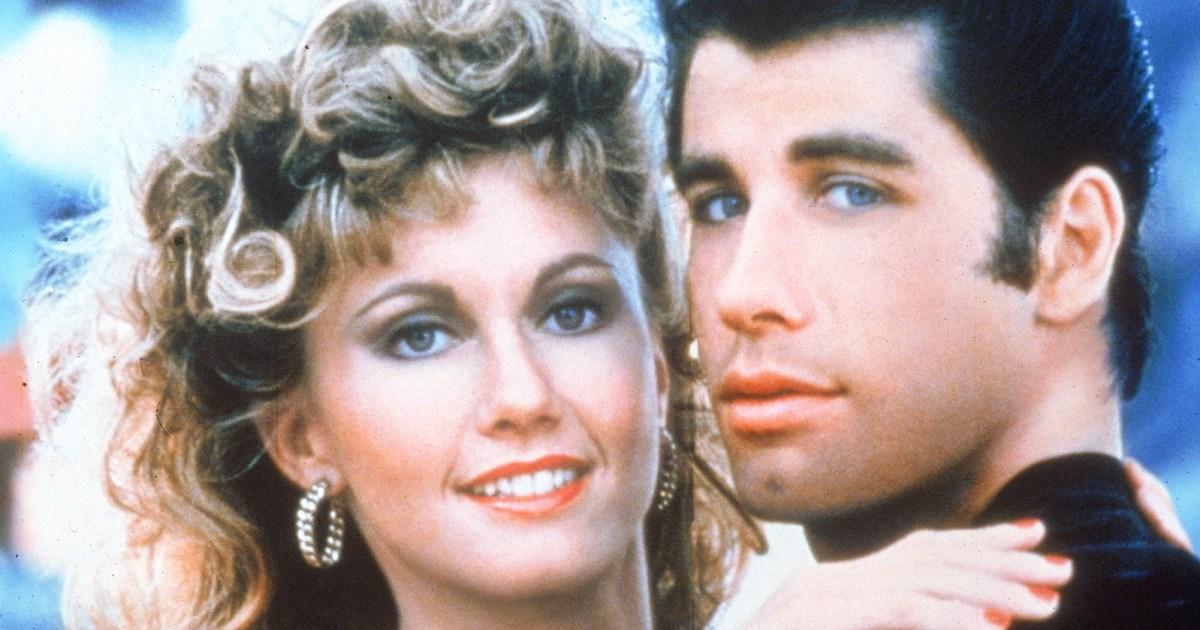 Olivia Newton John John Travolta Grease 40th Anniversary