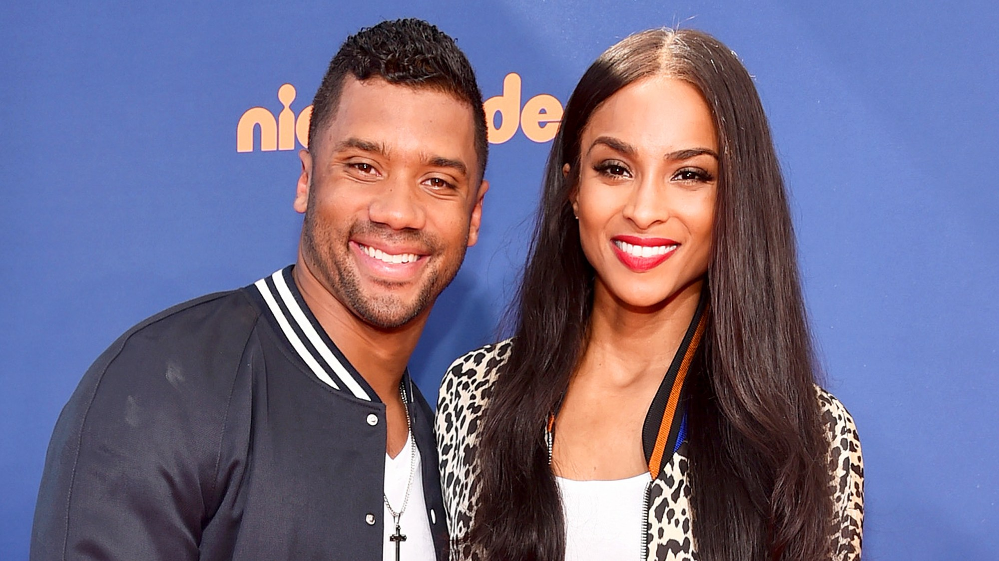 Russell Wilson and Ciara