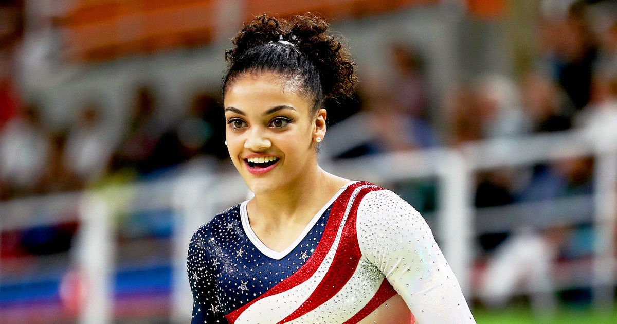 Watch A Young Laurie Hernandez Perform A Gymnastics Floor
