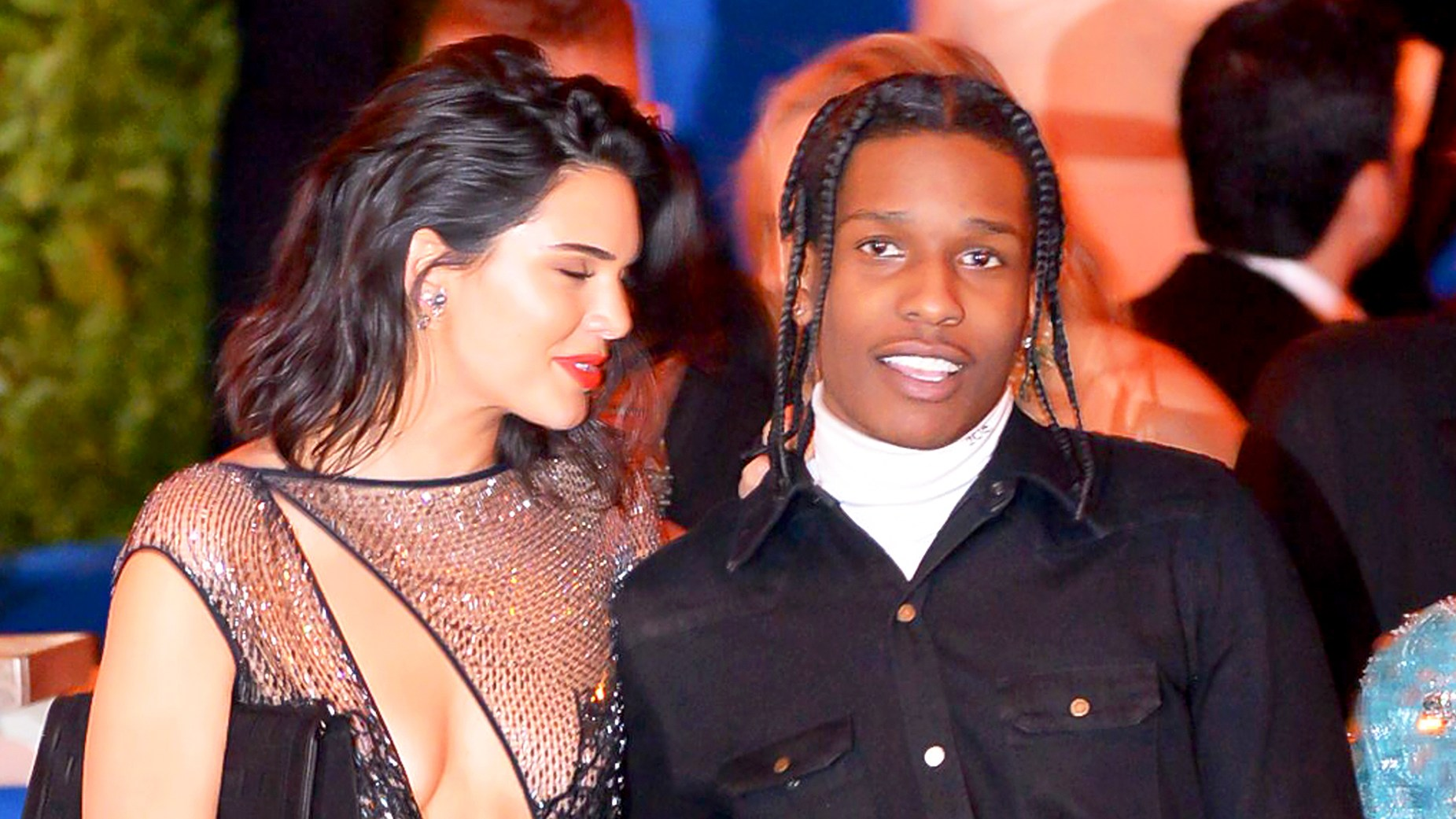 Kendell Jenner and ASAP Rocky