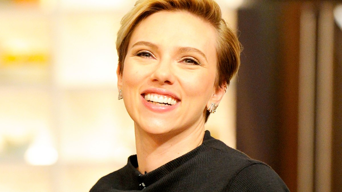 Scarlett Johansson Shows Off New Back Tattoo On Avengers Set Pic