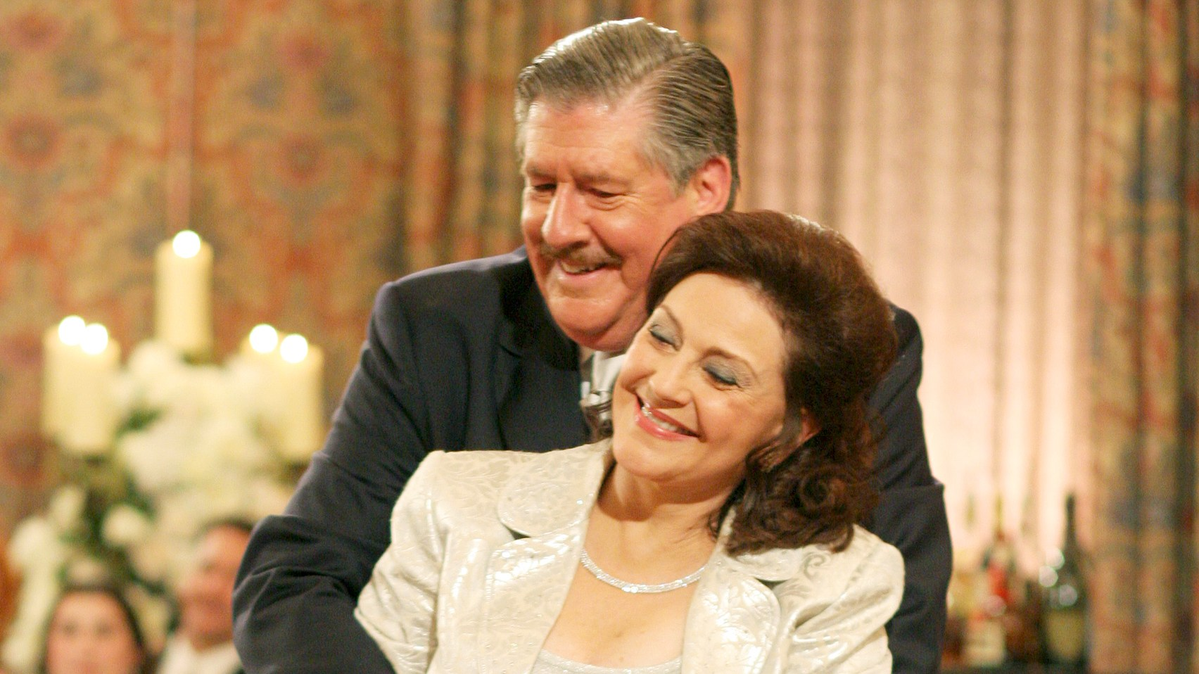 Kelly Bishop and Edward Herrmann