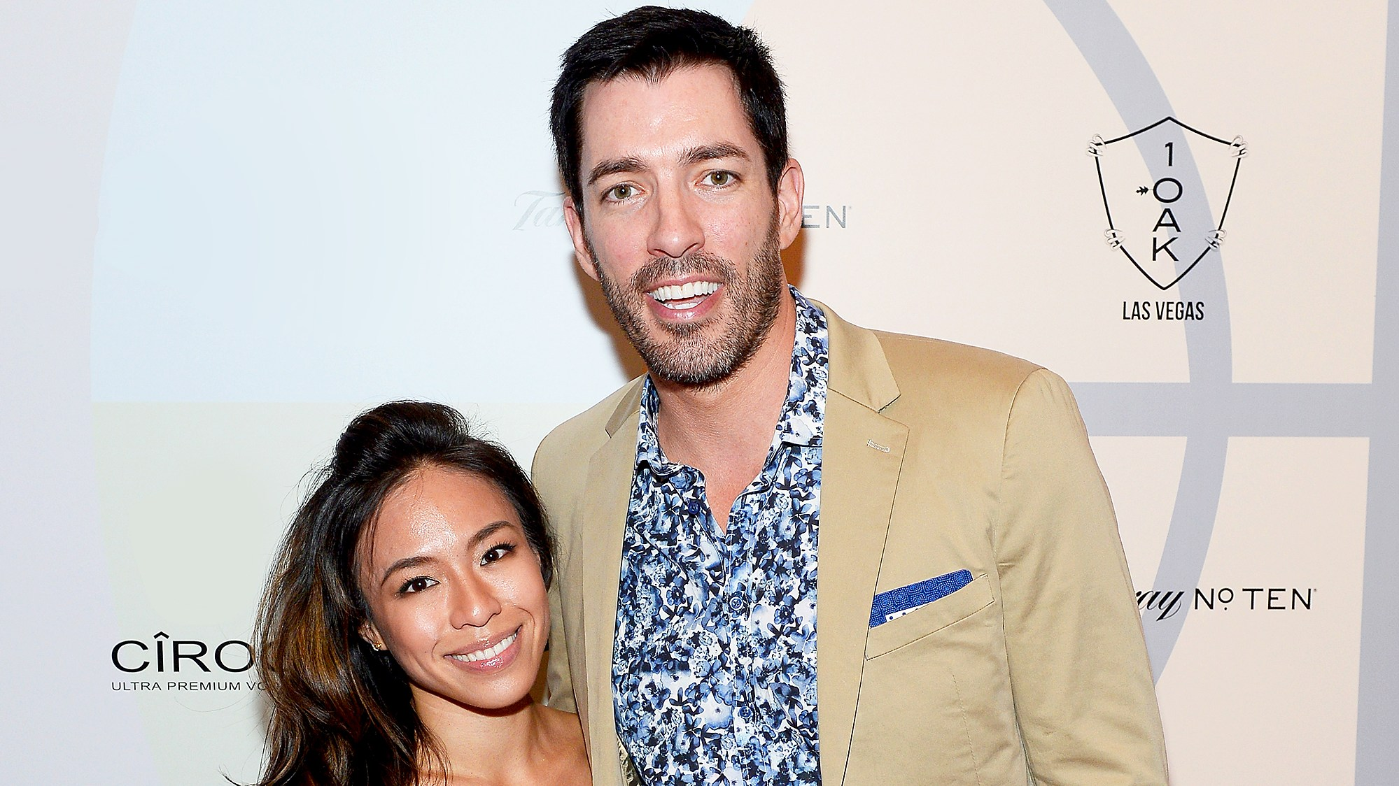 Linda Phan and Drew Scott