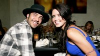 Justin Bobby and Audrina Patridge attend the Dolce Five Year Anniversary 2008 at Dolce in Los Angeles, California.