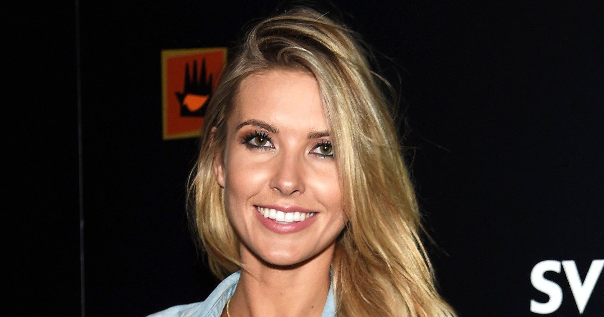 Audrina Patridge Shows Off Post Baby Body And New Hair Color